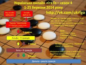 Укр онлайн ліга Го - Сезон 4
