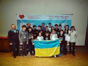 Команда України на ЮЧЄ 2016 року